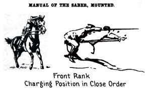 Saber Charge - Cavalry Service Regulations United States Army (experimental) 1914
